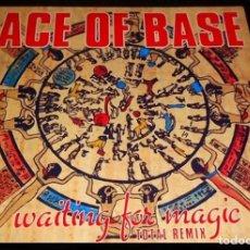 Discos de vinilo: ACE OF BASE. WAITING FOR MAGIC TOTAL REMIX. EP VINILO. Lote 197395500