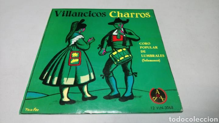 VILLANCICOS CHARROS - CORO POPULAR LUMBRALES SALAMANCA. EP VINILO BUEN ESTADO (Música - Discos de Vinilo - EPs - Country y Folk)