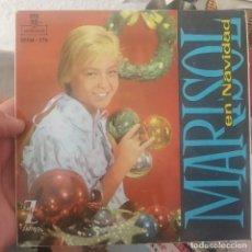 Discos de vinilo: EP MARISOL EN NAVIDAD LOS TRES ANGELITOS BUEN ESTADO. Lote 197403065