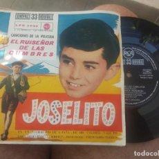 Discos de vinilo: EP JOSELITO EL RUISEÑOR DE LAS CUMBRES EN UN PUEBLECITO DE ESPAÑA BUEN ESTADO. Lote 197404338