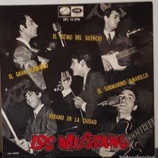 Discos de vinilo: LOS MUSTANG - EL RITMO DEL SILENCIO- 1966. Lote 197410901