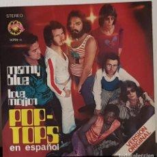 Disques de vinyle: POP - TOPS MAMY BLUE - LOVE MOTION - EXPLOSION 1971. Lote 197412880