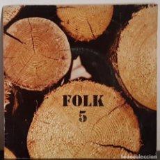 Discos de vinilo: FOLK 5 XESCO BOIX I GRUP SAC - EDICIO ESPECIAL CAIXA SABADELL. Lote 197417928