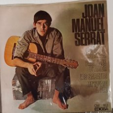 Discos de vinilo: JOAN MANUEL SERRAT CANÇÓ DE MATINADA - EDIGSA 1966. Lote 197418118