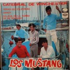 Discos de vinilo: LOS MUSTANG VERAS QUE ES VERDAD - 1967. Lote 197418588