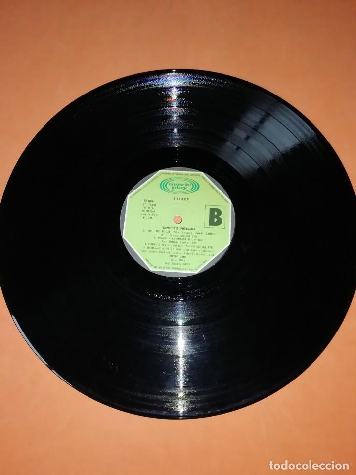 Discos de vinilo: VICTOR JARA. CANCIONES POSTUMAS. CHILE SEPTIEMBRE 1973. MOVIEPLAY 1975 - Foto 8 - 197421036