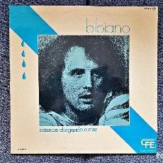 Discos de vinilo: BIBIANO - ESTAMOS CHEGANDO O MAR. LP, CON DOBLE CARÁTULA CON LAS LETRAS DE LAS CANCIONES. AÑO 1.976. Lote 197421443