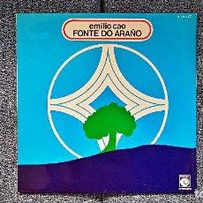 Discos de vinilo: EMILIO CAO - FONTE DO ARAÑO.LP CON CARÁTULA DOBLE. EDITADO POR ZAFIRO. AÑO 1.977. Lote 197422400