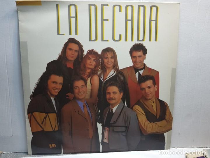 LP-LA DECADA-LA DECADA EN FUNDA ORIGINAL 1993 (Música - Discos de Vinilo - EPs - Grupos Españoles de los 90 a la actualidad)