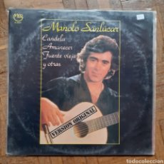 Discos de vinilo: MANOLO SANLUCAR. MIRLO CL-35271. ESPAÑA 1980.. Lote 197431852