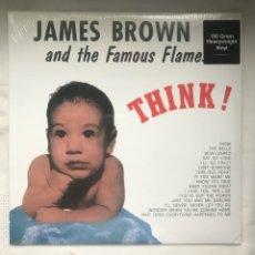 Discos de vinilo: JAMES BROWN AND THE FAMOUS FLAMES THINK. Lote 197433337
