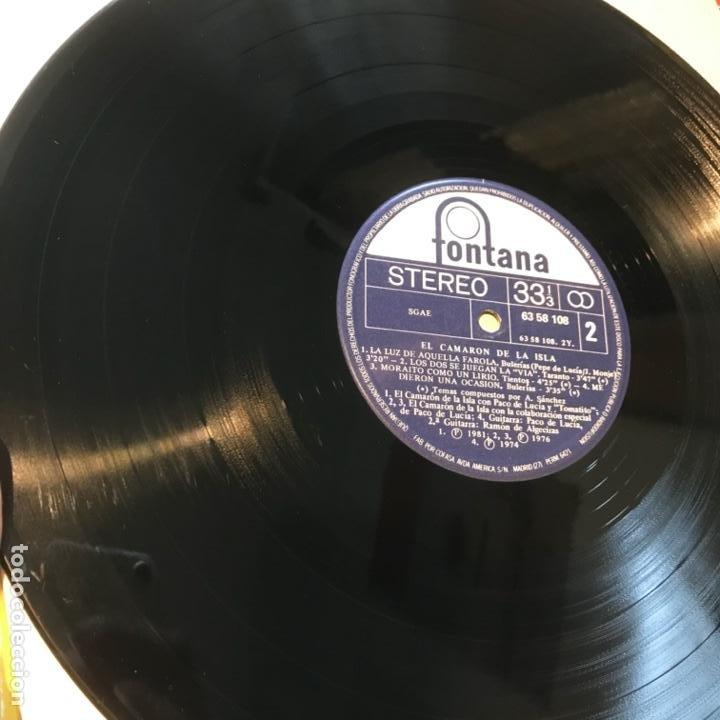 Discos de vinilo: El Camaron De La Isla El Camaron De La Isla 1983 - Foto 4 - 197441731