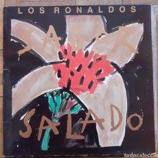 Discos de vinilo: LOS RONALDOS. SALADO. EMI 076 7946931. ESPAÑA 1990. FUNDA VG++. DISCO VG++.. Lote 197442438