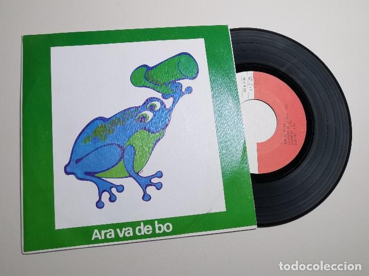 Discos de vinilo: ARA VA DE BO El Gripau Blau LP 1977 Edigsa / Als 4 Vents FOLK POPULAR CATALA - Foto 2 - 197444402