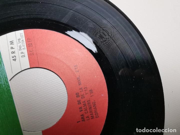 Discos de vinilo: ARA VA DE BO El Gripau Blau LP 1977 Edigsa / Als 4 Vents FOLK POPULAR CATALA - Foto 5 - 197444402