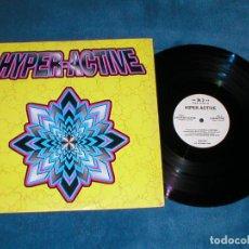 Discos de vinilo: HYPER HIPER ACTIVE 1996 SPAIN MAXI 12 ELECTRONIC MAKINA HARD TRANCE GUITAR MAX MUSIC RARO DJ DIMAS. Lote 197445778