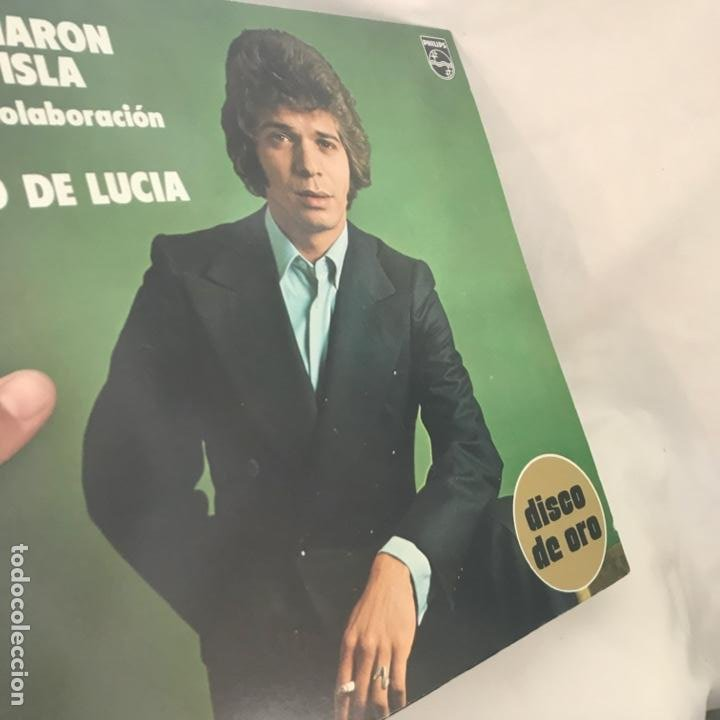 Discos de vinilo: El Camarón De La Isla Con La Colaboración De Paco De Lucía ?– Disco De Oro 1976 - Foto 2 - 197450202
