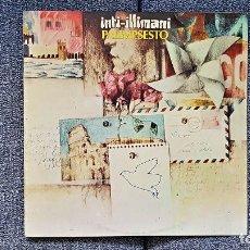 Discos de vinilo: INTI-ILLIMANI - PALIMPSESTO. EDITADO POR MOVIEPLAY. AÑO. 1.982. Lote 197452606