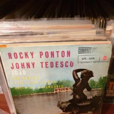 Discos de vinilo: JOHNY TEDESCO / ROCKY PONTON / PRESUMIDA / EDICIÓN ESPAÑOLA / RCA 1962. Lote 197452731