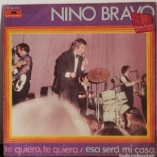Disques de vinyle: NINO BRAVO TE QUIERO, TE QUIERO - 1970. Lote 197454022