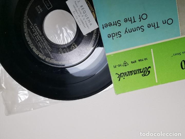 Discos de vinilo: CARMEN CAVALLARO EDDIE DUCHIN STORY (SUNNY SIDE STREET +3) EP ESPAÑA 1961 - Foto 4 - 197454356