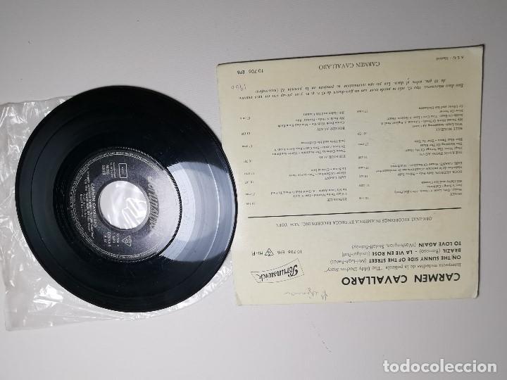 Discos de vinilo: CARMEN CAVALLARO EDDIE DUCHIN STORY (SUNNY SIDE STREET +3) EP ESPAÑA 1961 - Foto 5 - 197454356