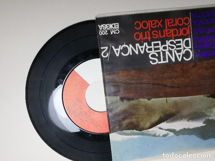 Discos de vinilo: jordans trio. cants desperança 2. kumbaya. vull ser lliure. vencerem. mou senyor. edigsa 1967. ep - Foto 3 - 197457938