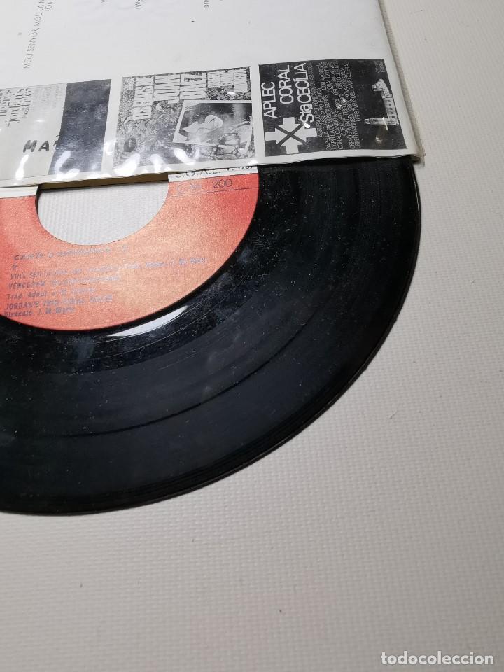 Discos de vinilo: jordans trio. cants desperança 2. kumbaya. vull ser lliure. vencerem. mou senyor. edigsa 1967. ep - Foto 7 - 197457938