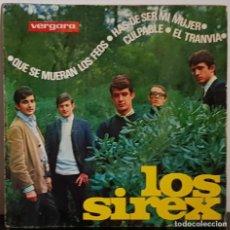 Discos de vinilo: LOS SIREX QUE SE MUERAN LOS FEOS - VERGARA 1965. Lote 197460982