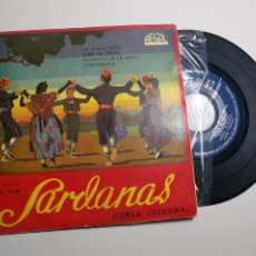 Discos de vinilo: COBLA GIRONA-SARDANAS-LA PLAÇA NOVA-JORN DE FESTA + 2 REGAL SEDL 19.148. Lote 197462801