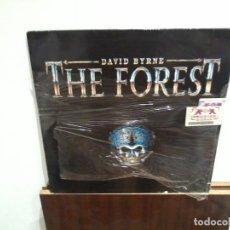 Discos de vinilo: DAVID BYRNE LP THE FOREST PRECINTADO, NUEVO. Lote 197463007