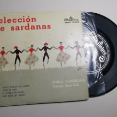 Discos de vinilo: SELECCION DE SARDANAS COBLA BARCELONA - -ALHAMBRA -EMGE 70000-1959. Lote 197463186