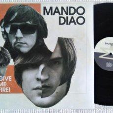 Discos de vinilo: MANDO DIAO - '' GIVE ME FIRE! '' 2 LP EU 2009. Lote 197464571