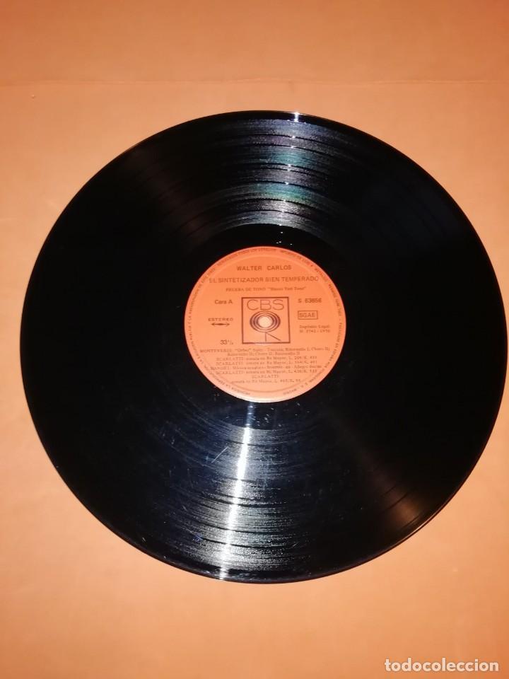 Discos de vinilo: WALTER CARLOS Y EL SINTETIZADOR BIEN TEMPERADO. CBS 1970 - Foto 5 - 197464757