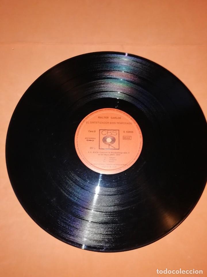 Discos de vinilo: WALTER CARLOS Y EL SINTETIZADOR BIEN TEMPERADO. CBS 1970 - Foto 7 - 197464757