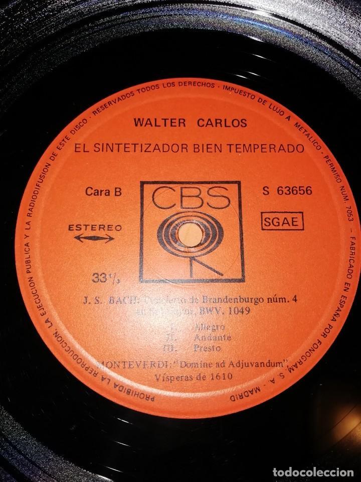 Discos de vinilo: WALTER CARLOS Y EL SINTETIZADOR BIEN TEMPERADO. CBS 1970 - Foto 8 - 197464757