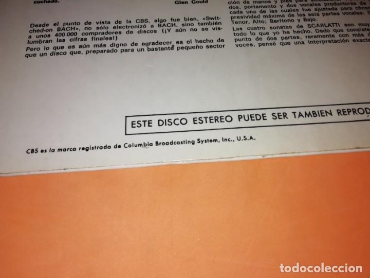 Discos de vinilo: WALTER CARLOS Y EL SINTETIZADOR BIEN TEMPERADO. CBS 1970 - Foto 4 - 197464757