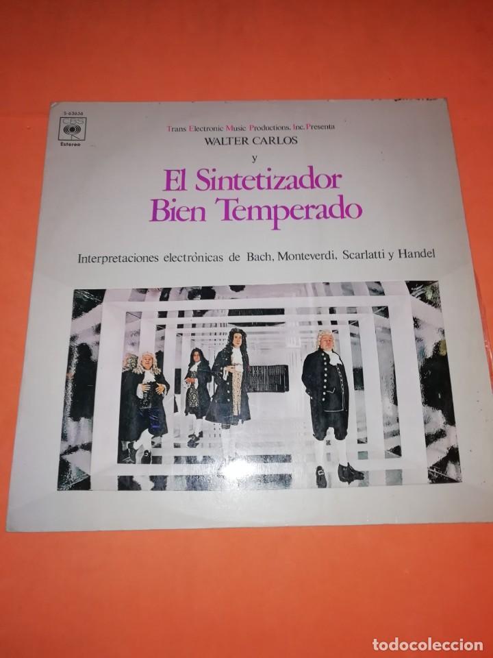 WALTER CARLOS Y EL SINTETIZADOR BIEN TEMPERADO. CBS 1970 (Música - Discos - LP Vinilo - Electrónica, Avantgarde y Experimental)