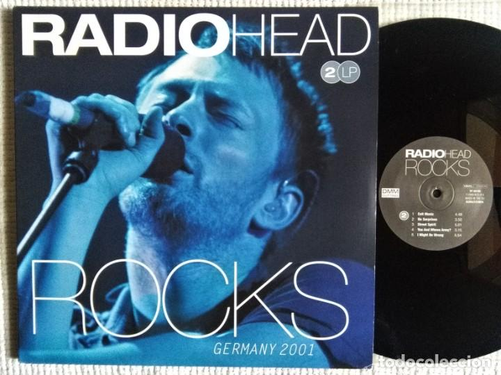 RADIOHEAD - '' ROCKS GERMANY 2001 '' 2 LP EU 2009 (Música - Discos - LP Vinilo - Pop - Rock Extranjero de los 90 a la actualidad)