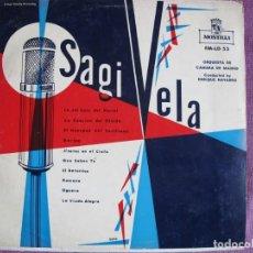 Discos de vinilo: LP - SAGI VELA - CREACIONES DE LUIS SAGI VELA (SPAIN, DISCOS MONTILLA SIN FECHA). Lote 197469460