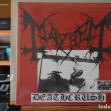 Discos de vinilo: (LP-NUEVO PRECINTADO) / MAYHEM – DEATHCRUSH - BACK ON BLACK – BOBV049LP. Lote 197474330