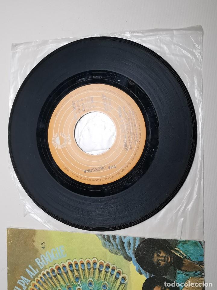 Discos de vinilo: The Jacksons - Echale La Culpa Al Boogie (Single) (Epic) EPC 6683 - Foto 2 - 197476355