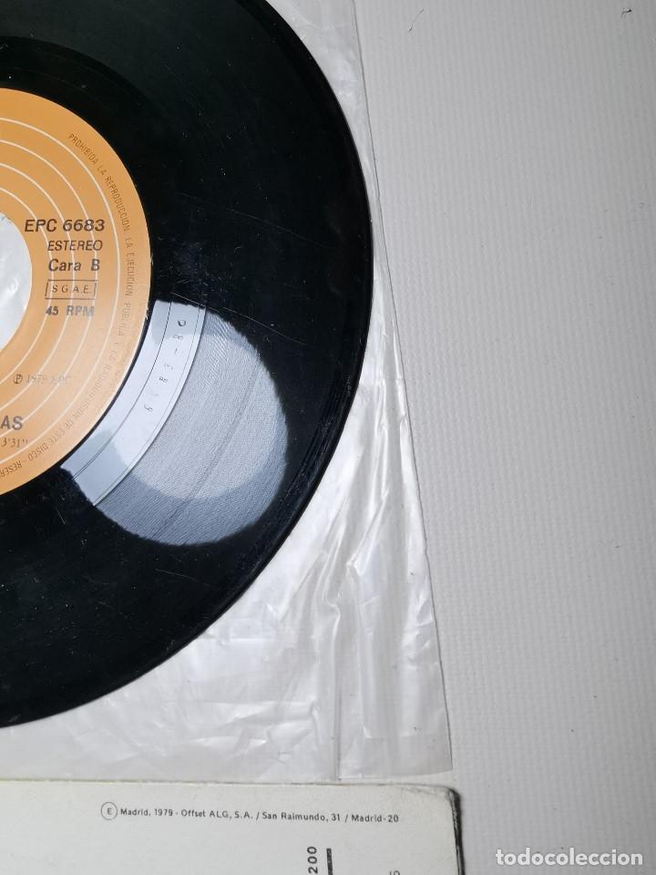 Discos de vinilo: The Jacksons - Echale La Culpa Al Boogie (Single) (Epic) EPC 6683 - Foto 8 - 197476355