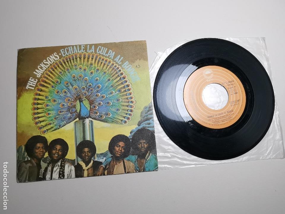 THE JACKSONS - ECHALE LA CULPA AL BOOGIE (SINGLE) (EPIC) EPC 6683 (Música - Discos - Singles Vinilo - Funk, Soul y Black Music)