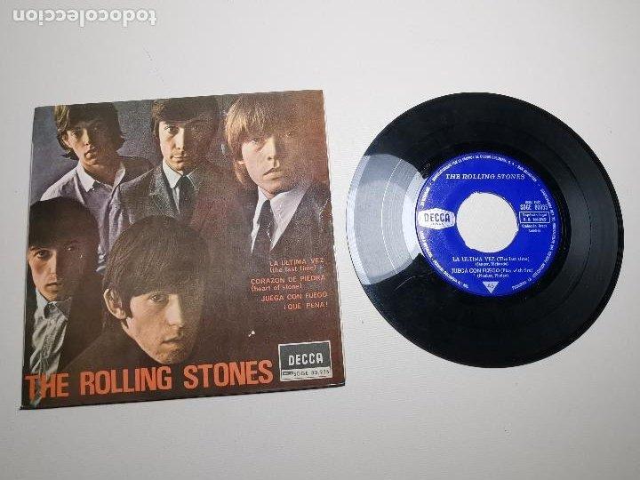 THE ROLLING STONES (LA ULTIMA VEZ +3) EP ESPAÑA 1965 DECCA SDGE 80.935 (Música - Discos - Singles Vinilo - Pop - Rock Extranjero de los 50 y 60)