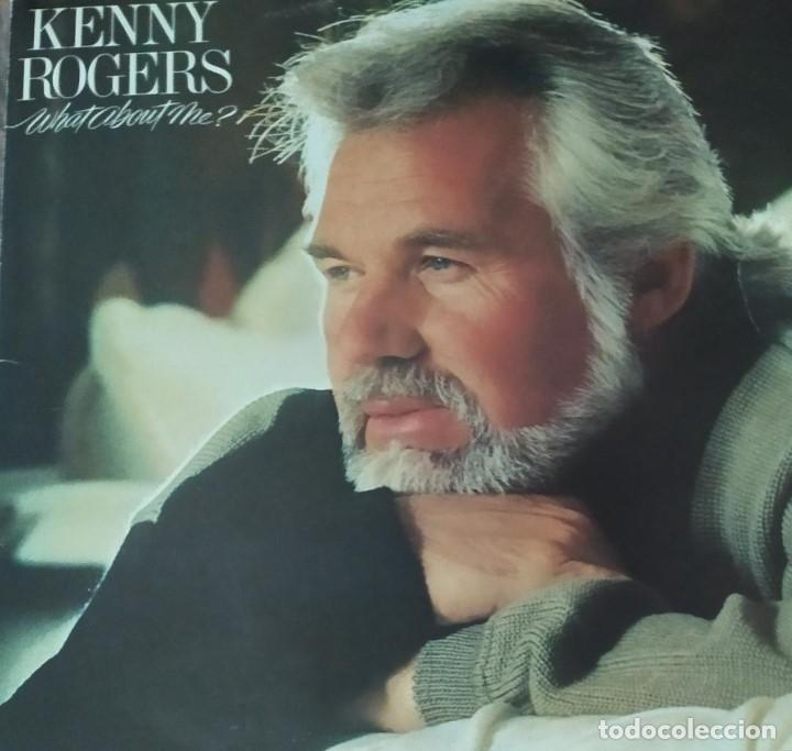 KENNY ROGERS-WHAT ABOUT ME? (Música - Discos de Vinilo - Maxi Singles - Country y Folk)