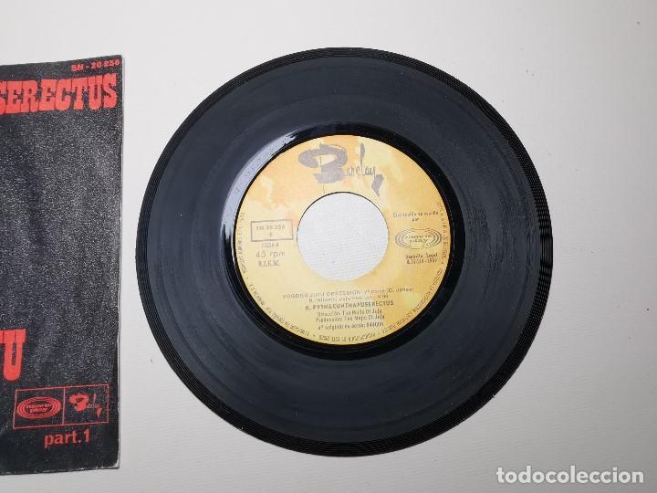 Discos de vinilo: K. Pythacunthapuserectus. Voodoo Ju Ju Obsesion. Movieplay-Barclay, Esp. 1969 single - Foto 4 - 197483542