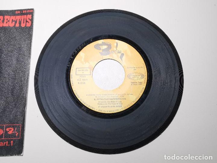 Discos de vinilo: K. Pythacunthapuserectus. Voodoo Ju Ju Obsesion. Movieplay-Barclay, Esp. 1969 single - Foto 5 - 197483542
