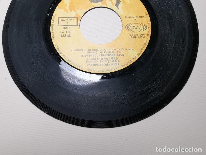 Discos de vinilo: K. Pythacunthapuserectus. Voodoo Ju Ju Obsesion. Movieplay-Barclay, Esp. 1969 single - Foto 6 - 197483542