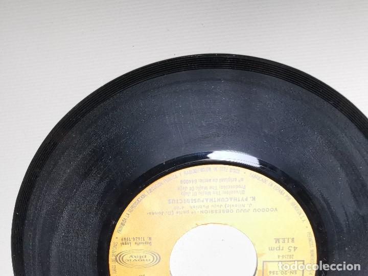 Discos de vinilo: K. Pythacunthapuserectus. Voodoo Ju Ju Obsesion. Movieplay-Barclay, Esp. 1969 single - Foto 10 - 197483542